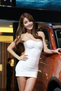 2014年广州性感车模