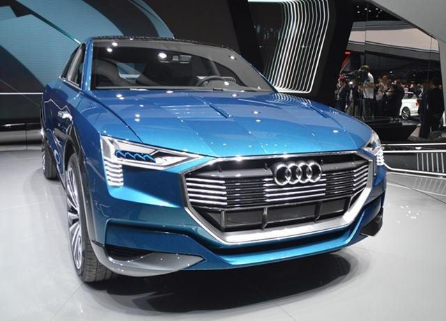 新车上市 奥迪首款电动SUV将2018年发布 续航超500km高清图片