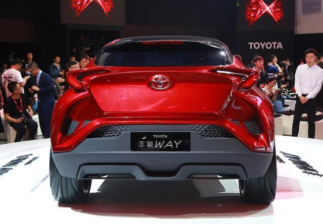 """一汽丰田小型SUV车型C-HR或定名""""奕泽"""""""