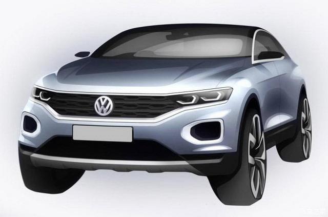 大众最新SUV即将首发 T-ROC完整预告图曝光