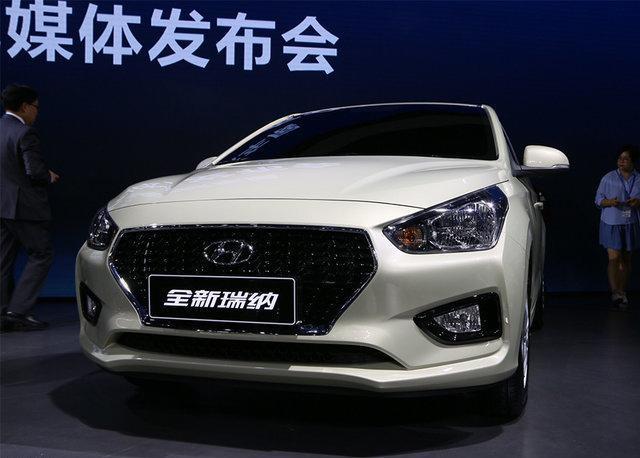 北京现代入门产品 新款瑞纳8月上市